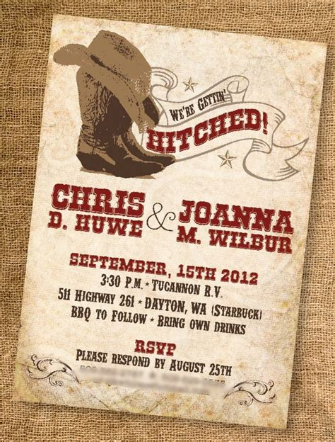 printable western wedding invitations free 278 best images about charro xv theme on pinterest