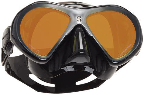 Mask Scubapro Spectra 2 Mini Scuba Diving Snorkeling Freediving scubapro spectra mini mirrored lens dive mask