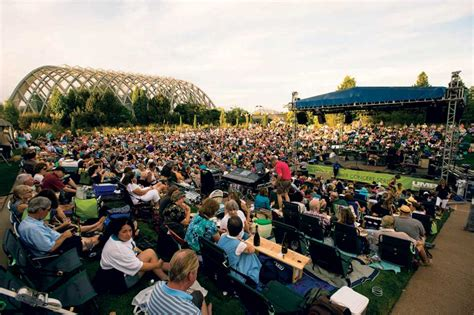 Botanical Gardens Denver Concerts Al Fresco Amazing Summer Concert Series Colorado