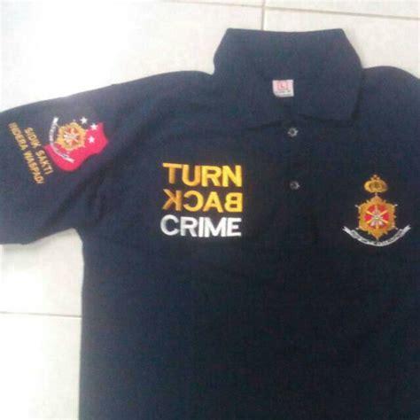 Kaos Uchiha Style Ka Nrt 26 jual kaos polo shirt kaos berkerah bordir alimi