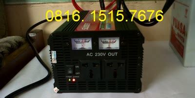 Harga Power Inverter Dc To Ac 2000 Watt tekno energi inverter hda2000c 12v 2000 watt plus charger