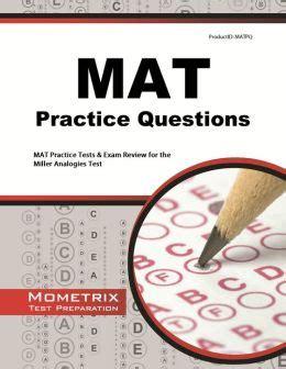 Mat Mock Test mat practice questions study guide by mat secrets test prep staff 9781621200642