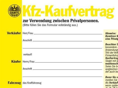 Motorrad Kaufvertrag Vorlage Sterreich by Autokauf Vorsicht Vor Ausl 228 Ndischen Anbietern