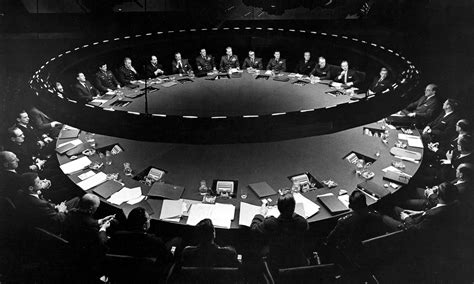 Dr Strangelove War Room by Dr Strangelove Ken Adam Set War Room And Furniture