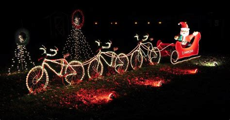 century cycles blog santa goes by bike at holiday lights