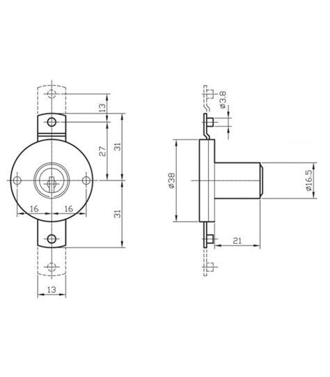 serrature per cassetti serratura per ante e cassetti kyr da applicare kyra 4a16