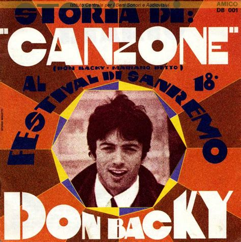 don backy poesia testo discografia nazionale della canzone italiana
