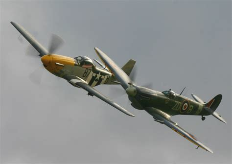 which fighter aircraft was better p 51 mustang vs focke