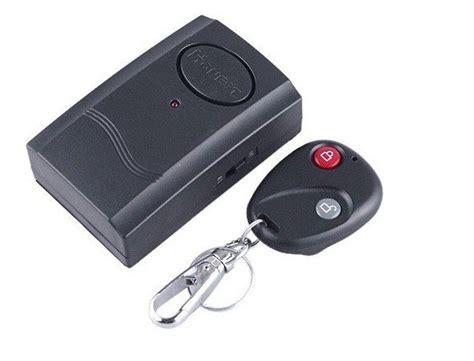 Alarm Remot Motor wireless remote alarm annunciator siren warner system for door window bike motor 40s