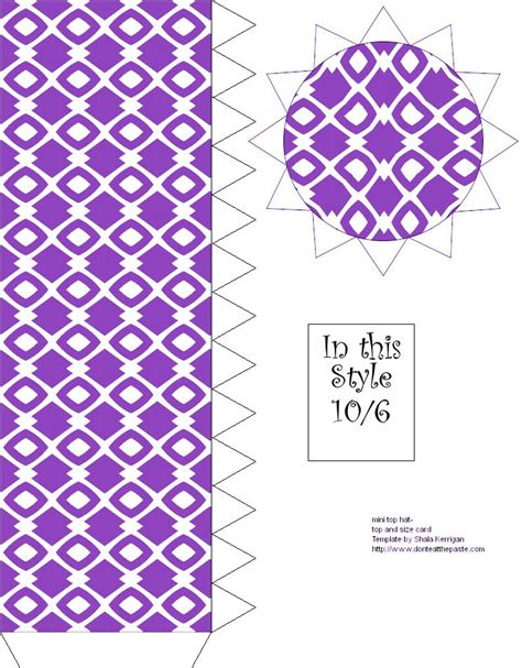 mad hatter hat template don t eat the paste printable mini mad hatter top hat