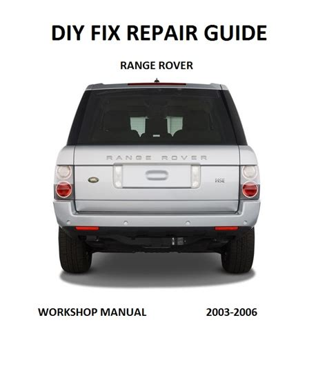 car repair manuals download 2007 land rover range rover electronic toll collection range rover repair manual 2007 cars 4 photos facebook
