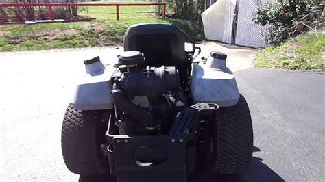exmark  turn lawn mower   hp kawasaki engine youtube