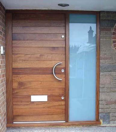 Build Front Door Building A Sapele Entry Door With Glass Panels