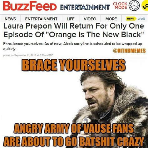 Oitnb Meme - oitnbmemes orange is the new black memes s instagram photos webstagram the best