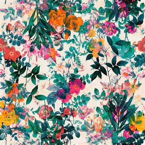 floral prints best 25 floral print wallpaper ideas on
