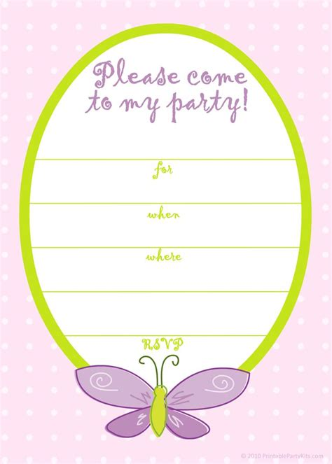 Free Printable Girls Birthday Invitations Free Printable Birthday Invitation Templates Bagvania Birthday Invitation Card Template Free