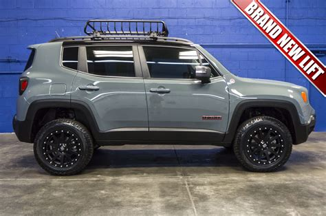 new jeep renegade lifted used lifted 2016 jeep renegade trailhawk 4x4 suv for sale