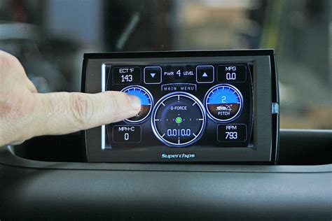 superchips traildash offers power  functionality