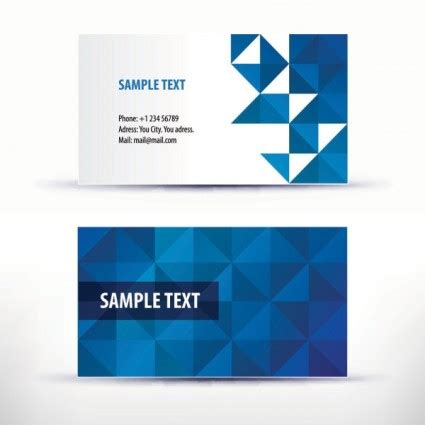 template of visiting card 6 visiting name card templates word excel pdf templates