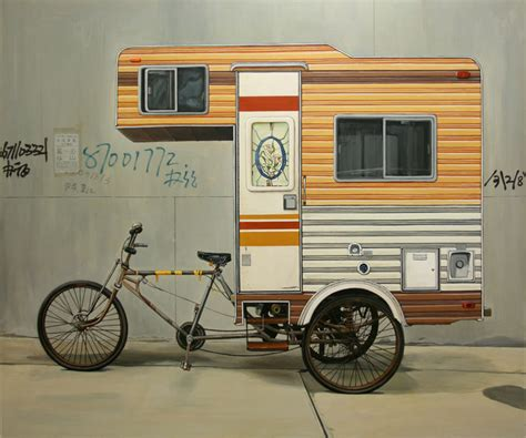 artist kevin cyr creates the cer bike a functional rv