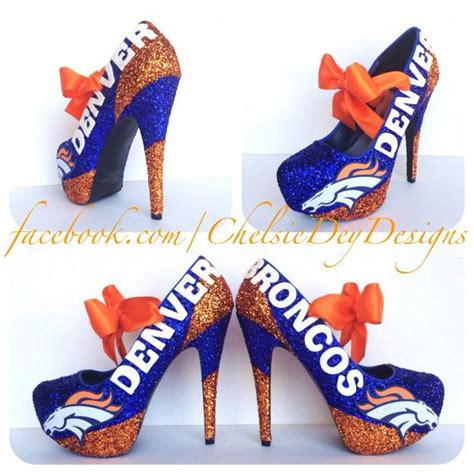 denver broncos high heels 110 best images about denver bronco stuff on