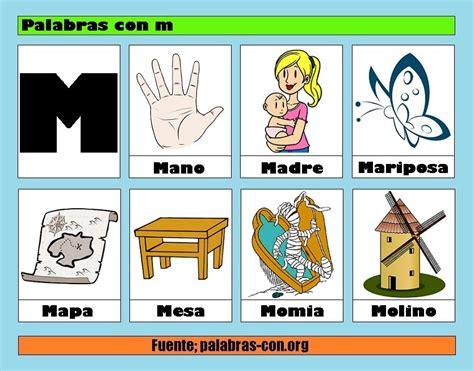 imagenes de palabras que empiecen con p palabras con m alfabeto abecedario pinterest