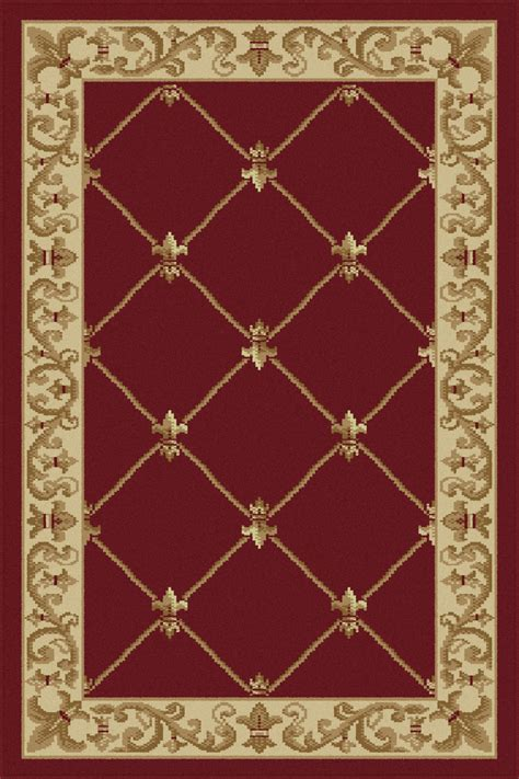 Area Rugs New Orleans Tayse Rugs Sensation Orleans Border Area Rug 2 X 3