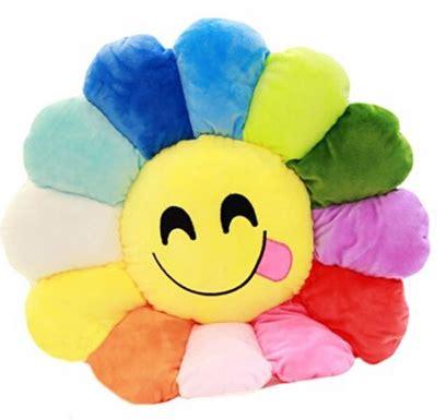 emoji bunga layu gambar 35 cm emoji smiley emoticon bunga matahari bantal