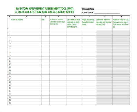 Inventory Spreadsheet Template 48 Free Word Excel Documents Download Free Premium Templates Inventory Sheet Template