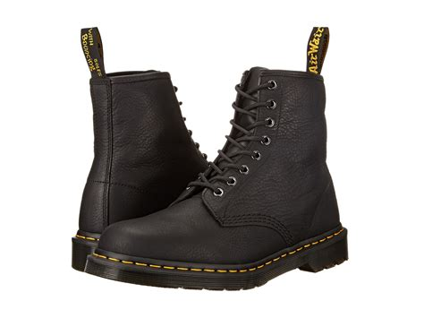mens doc martin boots dr martens 1460 8 eye boot soft leather at zappos