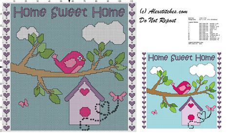 home patterns home sweet home free cross stitch pattern free cross