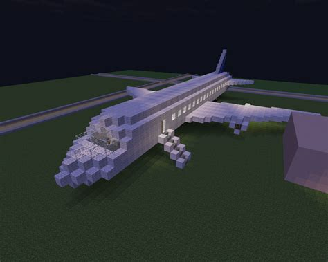 first airplane ever made so i made a plane today on a server i play on its my
