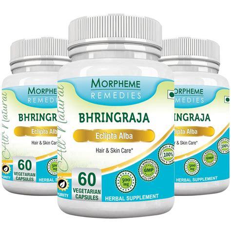 miranda hair vitamin eclipta alba morpheme bhringraja eclipta alba 500mg extract 60 veg