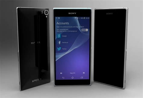 Dus Sony Experia Z2 new sony xperia z2 and samsung galaxy s5 concepts will leave you wanting for more