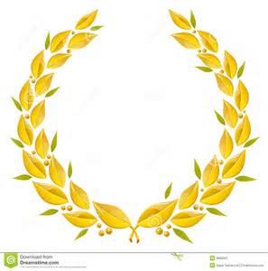 corona dell alloro immagine stock immagine 8962921