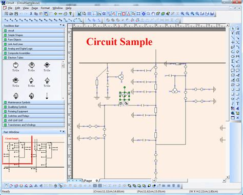 tool to draw diagrams electric power circuit diagram graphics draw source