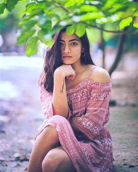cinema heroine photos full hd rashmika mandanna new latest hd photos chalo movie