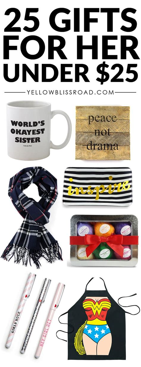 gifts for 25 25 gifts for her under 25 easy gift ideas for mom