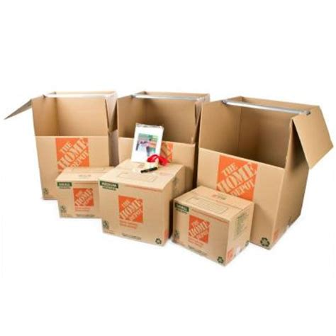 home depot small moving box the home depot 6 box closet moving kit hdc1 the home depot