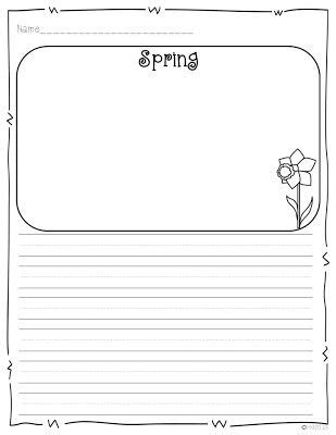 printable writing paper for spring peeps in a basket peeps spring and love