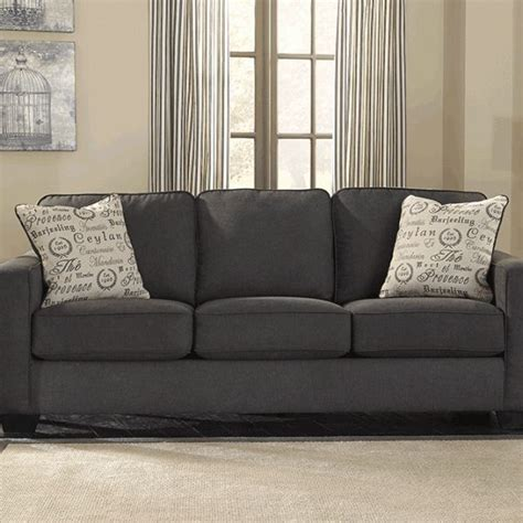 charcoal couch charcoal sofa upholstered sofa queen sofa sleeper