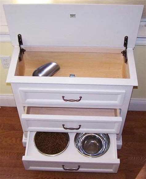 dog food storage cabinet bailey pet furniture with hidden storage crazy or