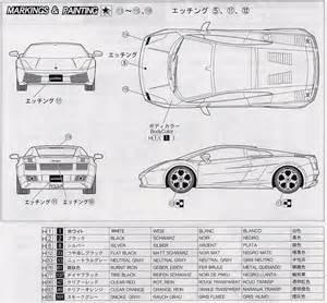 Lamborghini Dimensions Tutorials3d Blueprints Lamborghini Gallardo