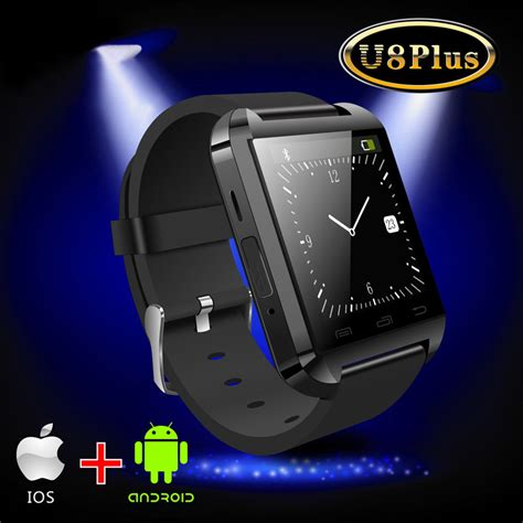 smartwatch u8 bluetooth smart watch for apple iphone u8 plus bluetooth 4 0 smart watch touch screen wristwatch