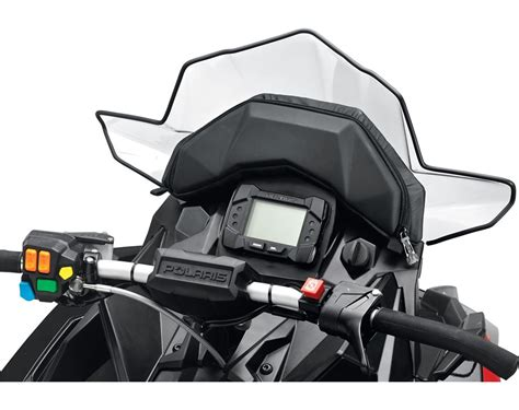 axys lock ride pro fit snowmobile heated windshield bag
