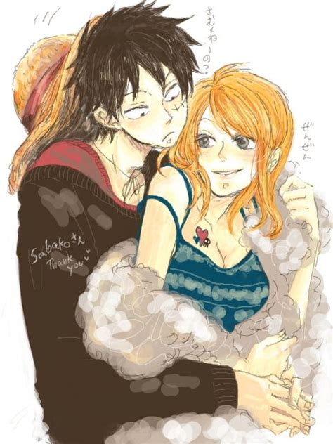 luffy and nami nami x luffy luffy x nami it hurts so