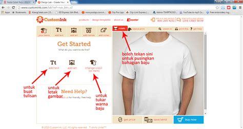 design baju secara online customink com design baju secara online kilangcetak com