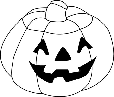coloring pages of halloween pumpkin 110 free halloween clipart coloring pages for kids