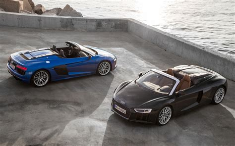 Audi V10 2017 Audi R8 Spyder Now On Sale In Australia From 388 500
