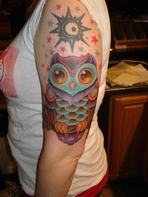 blue owl tattoo reviews 15 outstanding owl tattoos tattoo me now